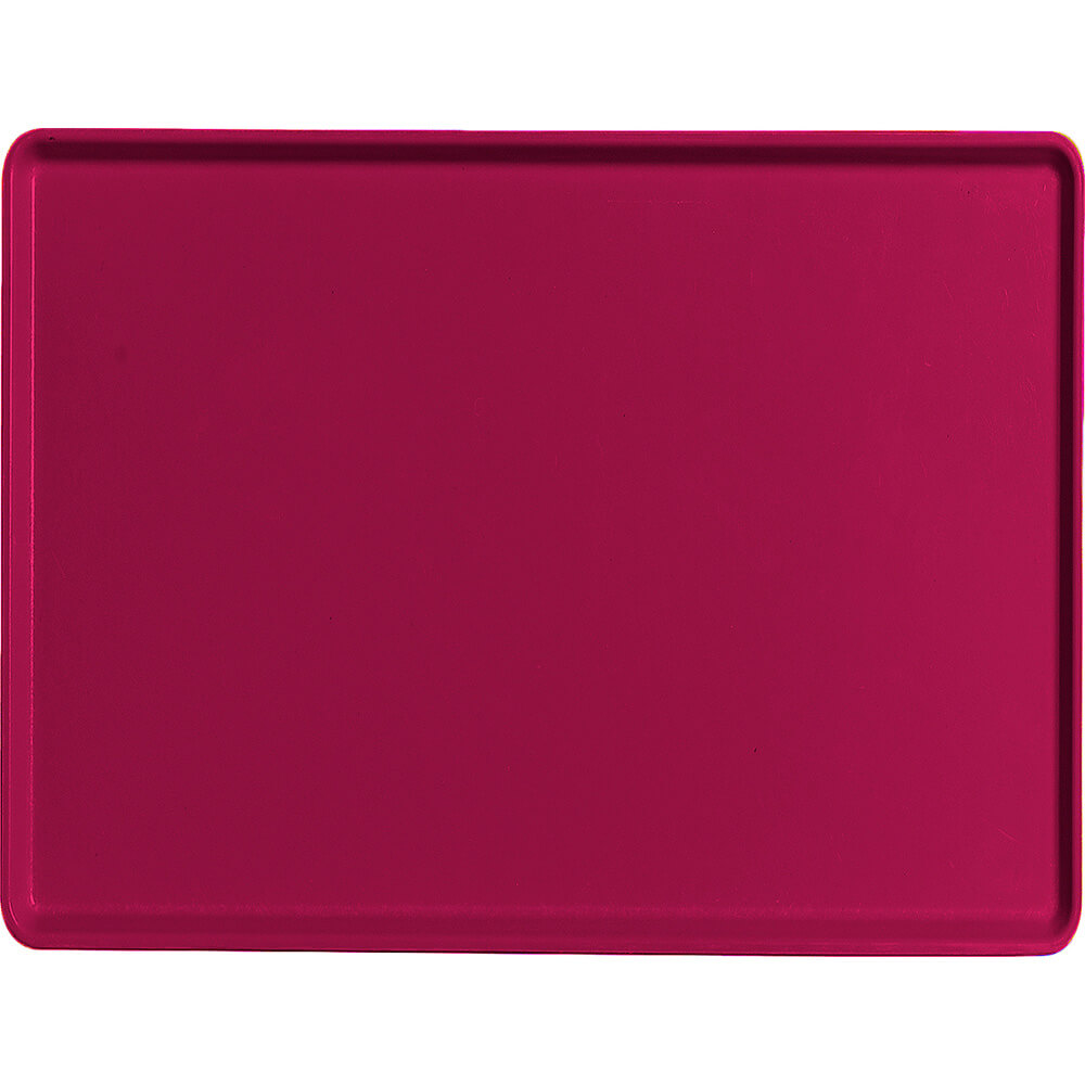 "Burgundy Wine, 15"" x 20"" Healthcare Food Trays, Low Profile, 12/PK"