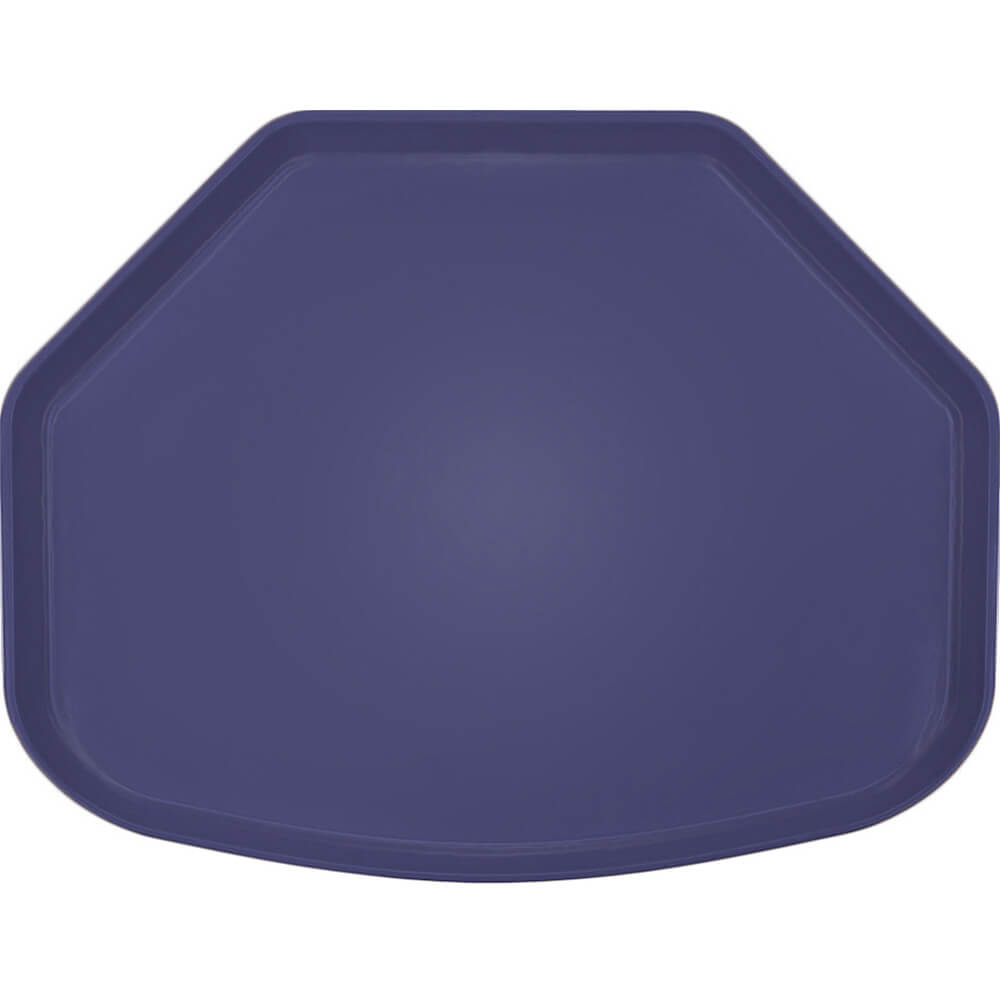 "Grape, 15"" x 20"" Trapezoid Food Trays, Fiberglass, 12/PK"