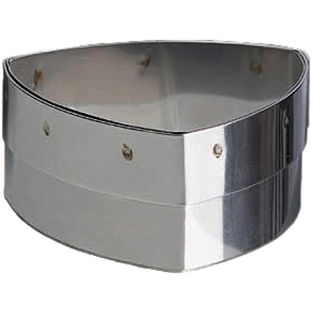 """Stainless Steel 2-2/3"""" Pastry Cutter, Sapphire Shape"""
