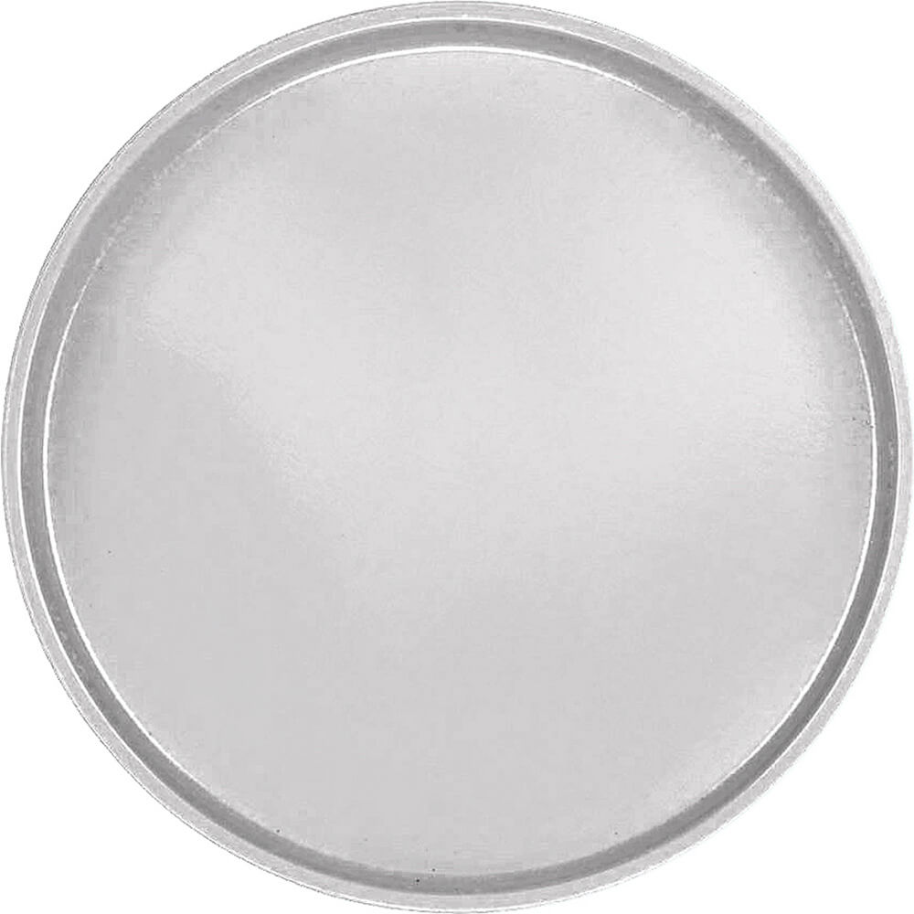 "Pearl Gray, 19-1/2"" Low Profile Round Serving Tray, Fiberglass, 12/PK"