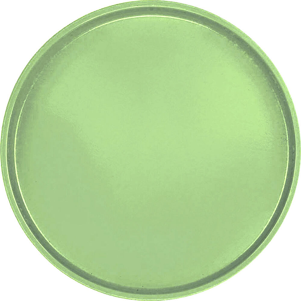 "Lime-Ade, 19-1/2"" Low Profile Round Serving Tray, Fiberglass, 12/PK"