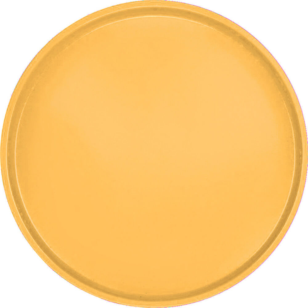 "Tuscan Gold, 16"" Round Serving Tray, Fiberglass, 12/PK"