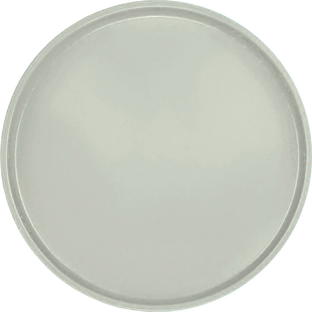 "Key Lime, 19-1/2"" Low Profile Round Serving Tray, Fiberglass, 12/PK"
