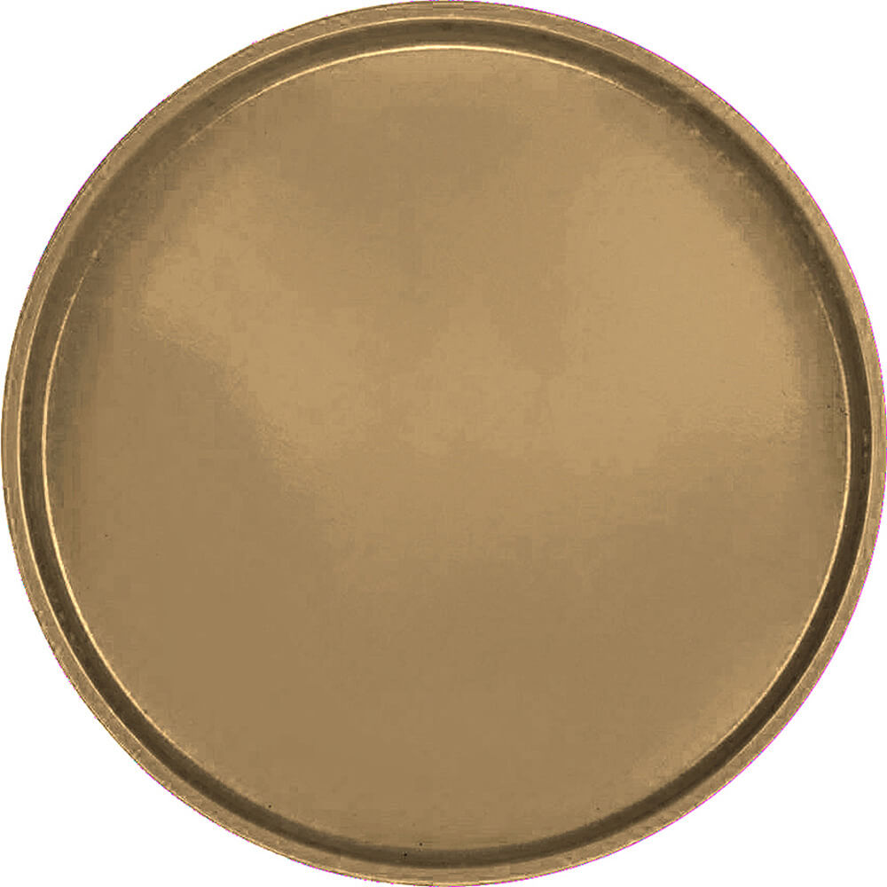 "Bay Leave Brown, 16"" Round Serving Tray, Fiberglass, 12/PK"