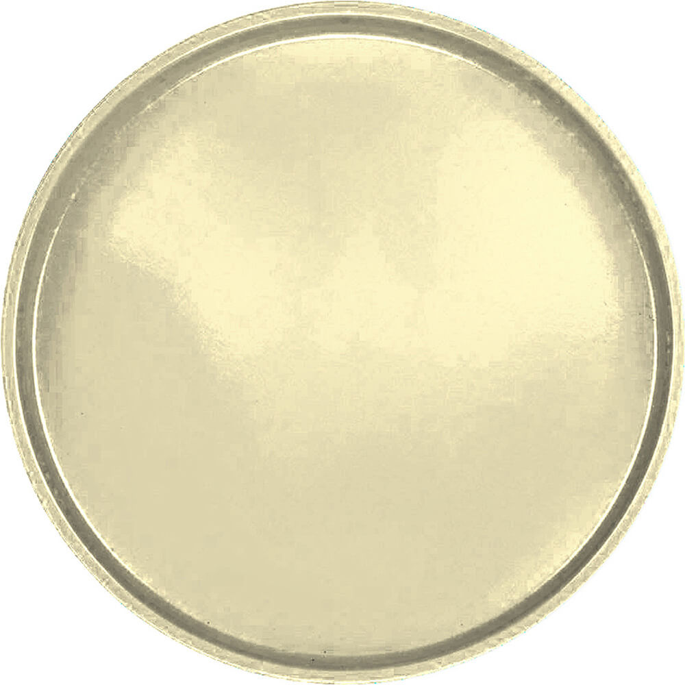 "Lemon Chiffon, 16"" Round Serving Tray, Fiberglass, 12/PK"