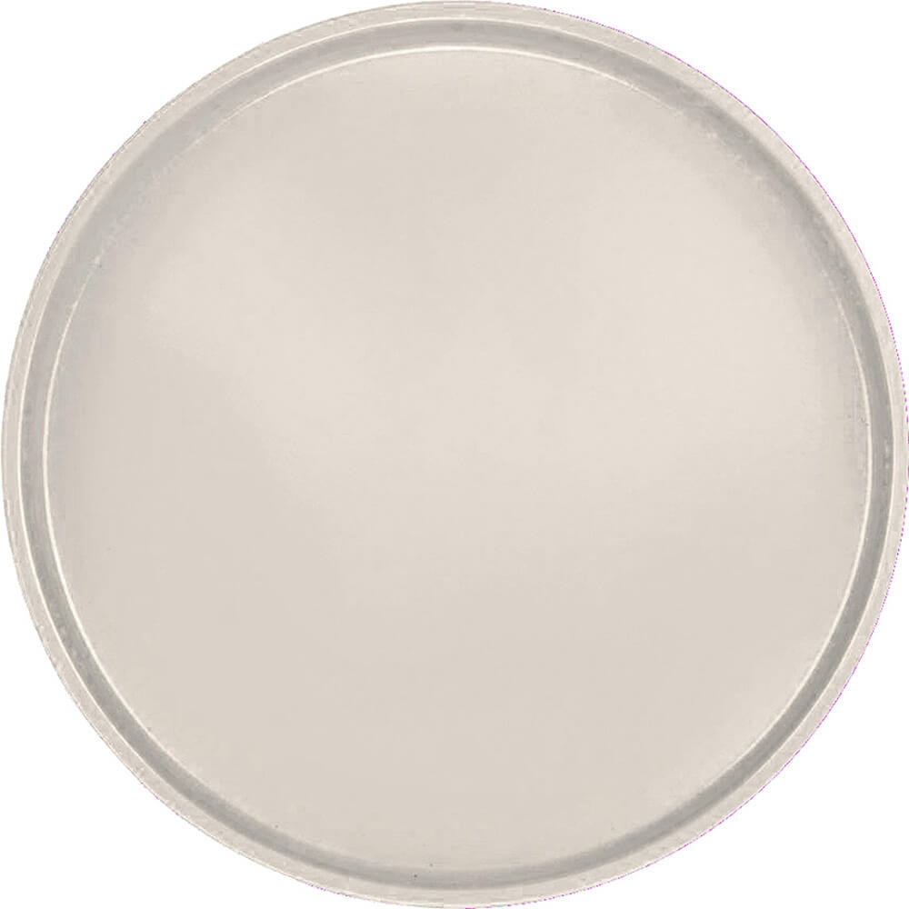 "Cottage White, 16"" Round Serving Tray, Fiberglass, 12/PK"