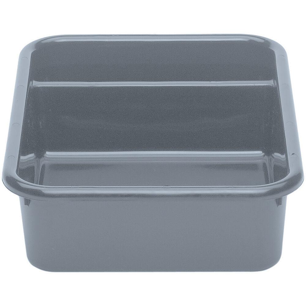 "Gray, 24"" X 21"" Plastic Bus Boxes, 12/PK"