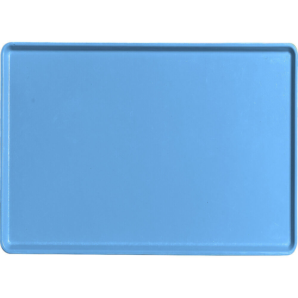 "Horizon Blue, 16"" x 22"" Healthcare Food Trays, Low Profile, 12/PK"