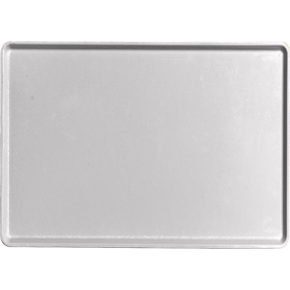 "Pearl Gray, 16"" x 22"" Healthcare Food Trays, Low Profile, 12/PK"