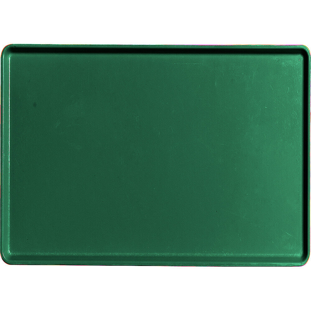 "Sherwood Green, 16"" x 22"" Healthcare Food Trays, Low Profile, 12/PK"