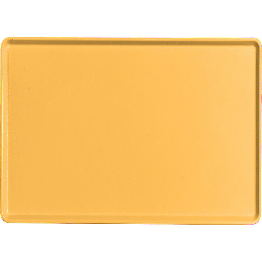 "Tuscan Gold, 16"" x 22"" Healthcare Food Trays, Low Profile, 12/PK"