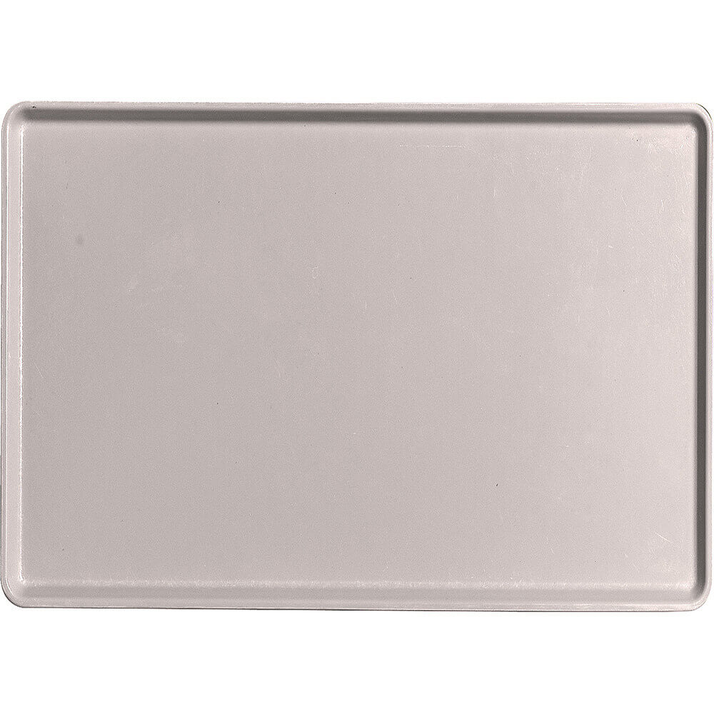 "Taupe, 16"" x 22"" Healthcare Food Trays, Low Profile, 12/PK"