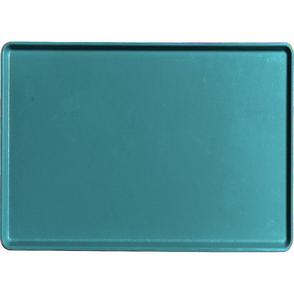 "Slate Blue, 16"" x 22"" Healthcare Food Trays, Low Profile, 12/PK"