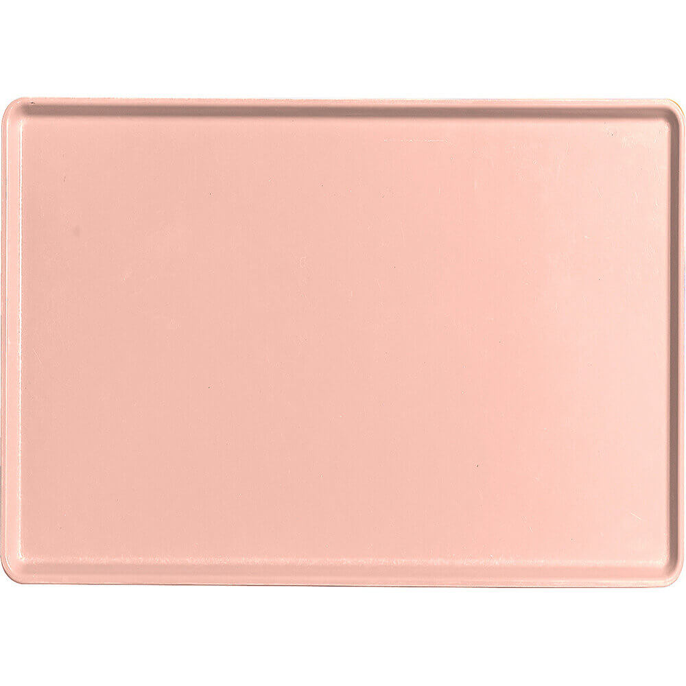 "Blush, 16"" x 22"" Healthcare Food Trays, Low Profile, 12/PK"