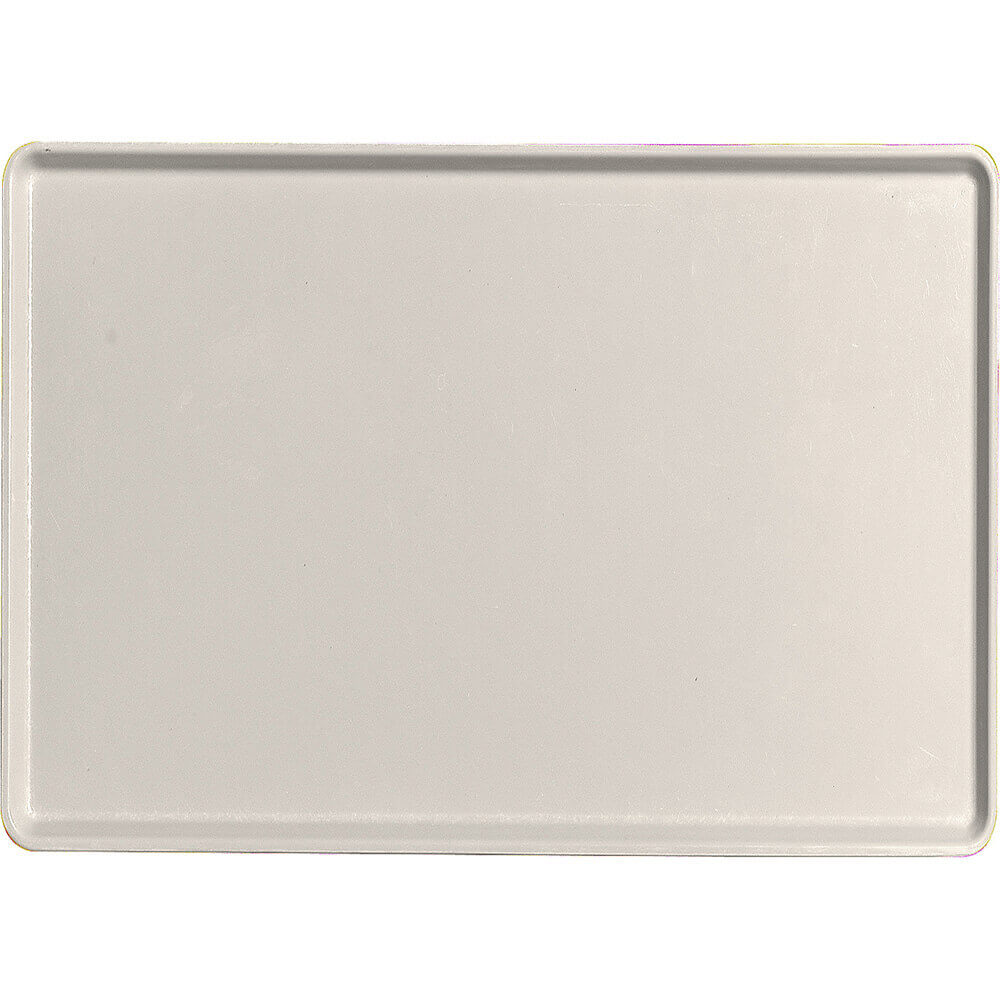 "Cottage White, 16"" x 22"" Healthcare Food Trays, Low Profile, 12/PK"