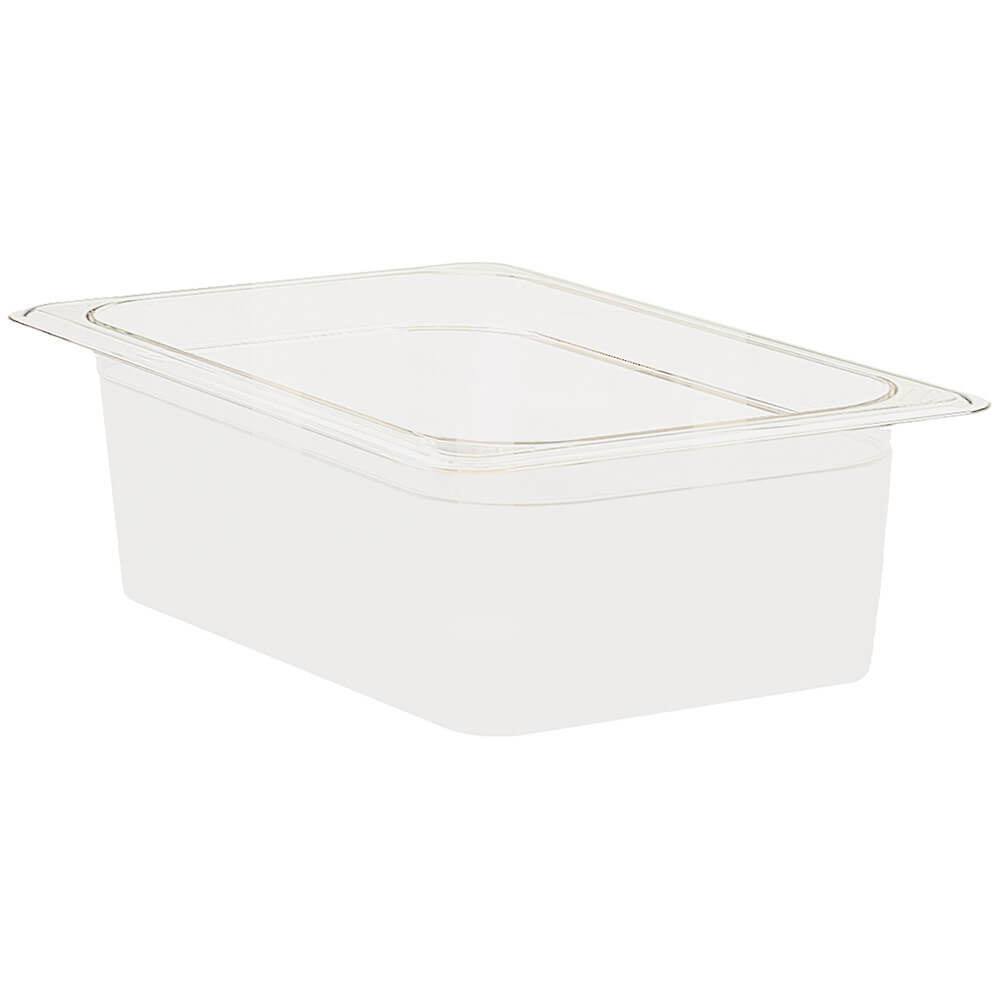 "White, 1/1 GN Food Pan, 6"" Deep, 6/PK"