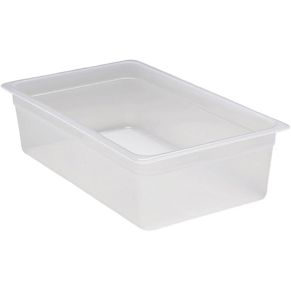"Translucent, 1/1 GN Food Pan, 6"" Deep, 6/PK"
