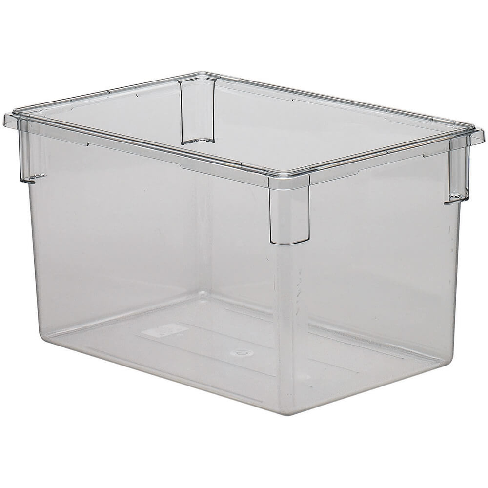 Clear, 22.0 Gal. Food Storage Boxes, Camwear, 3/PK
