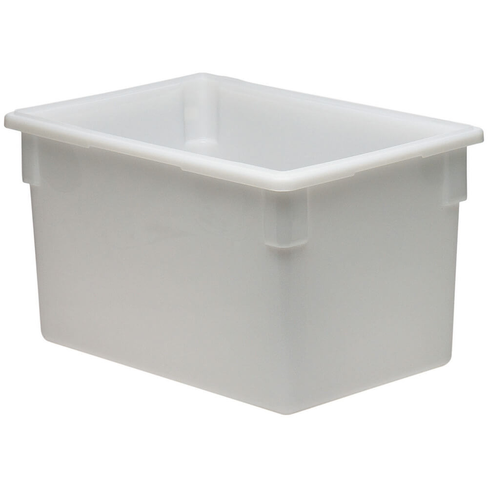 White, 22.0 Gal. Food Storage Boxes, Poly, 3/PK