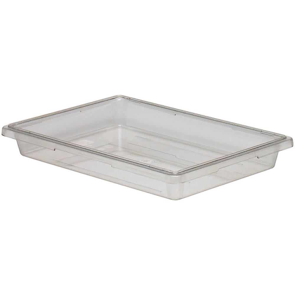 Clear, 5.0 Gal. Food Storage Boxes, Camwear, 6/PK