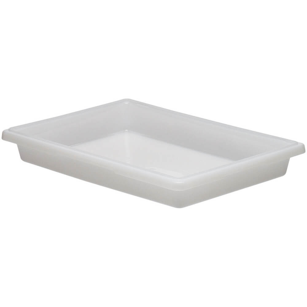 White, 5.0 Gal. Food Storage Boxes, Poly, 6/PK