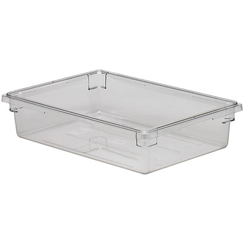 Clear, 8.75 Gal. Food Storage Boxes, Camwear, 6/PK
