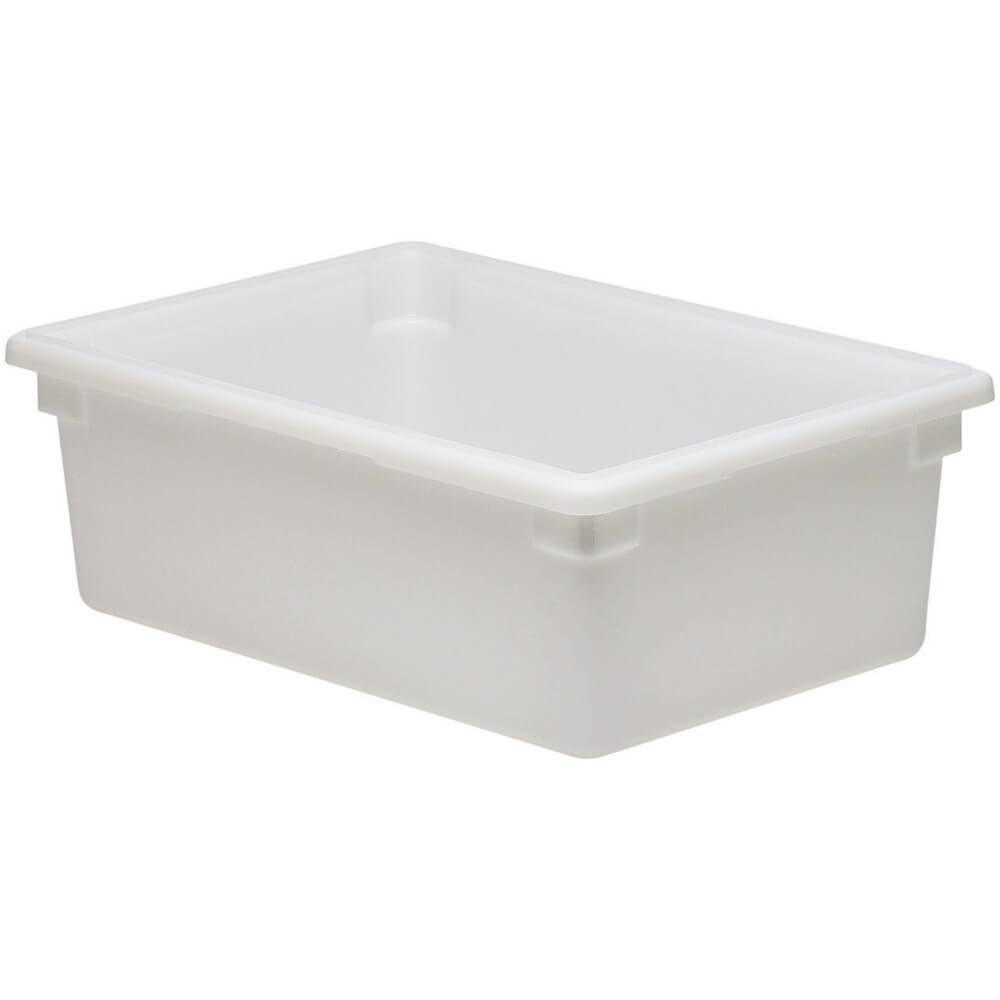White, 13.0 Gal. Food Storage Boxes, Poly, 6/PK