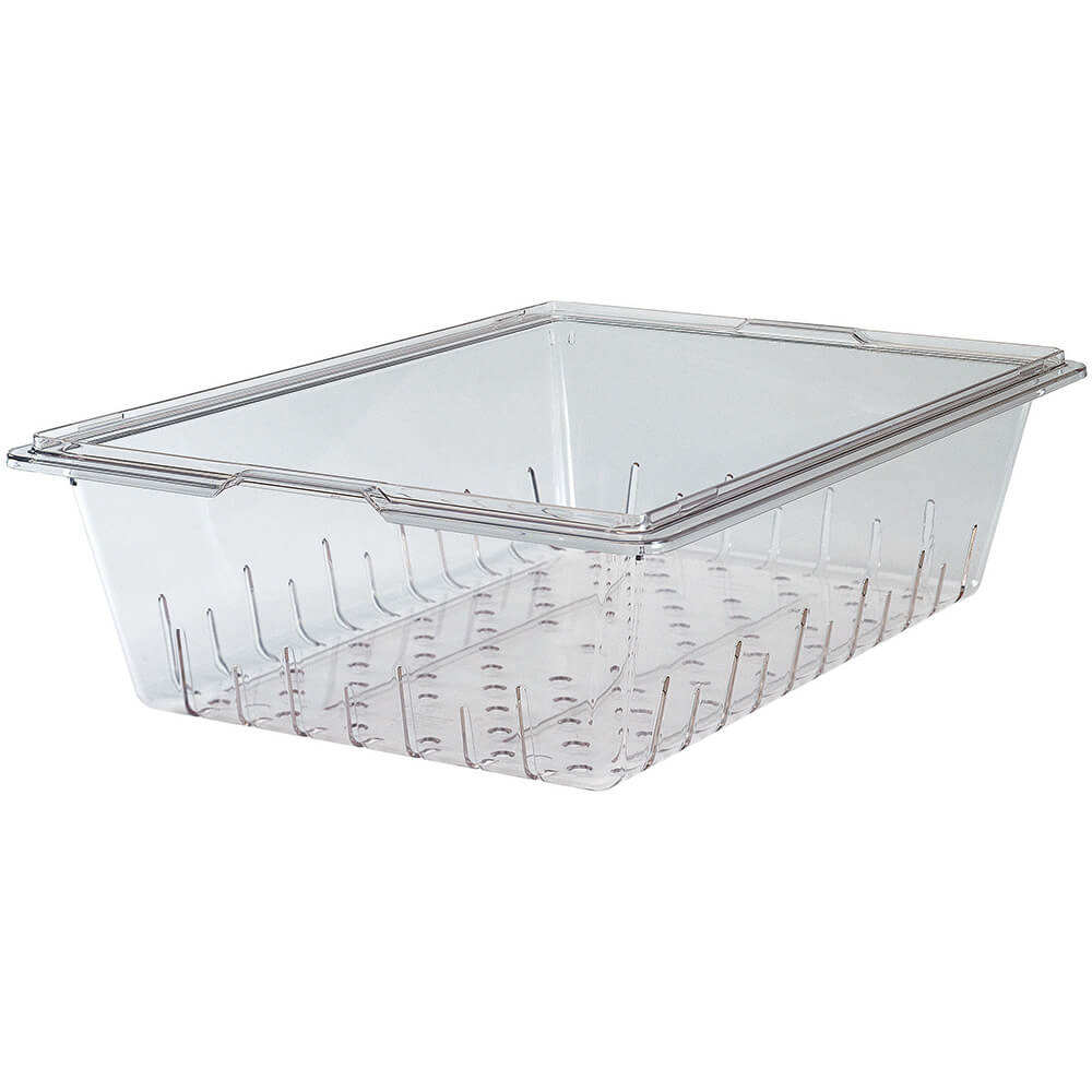 "Clear, 18""x26"" Colander Box, 5"" Deep, 6/PK"