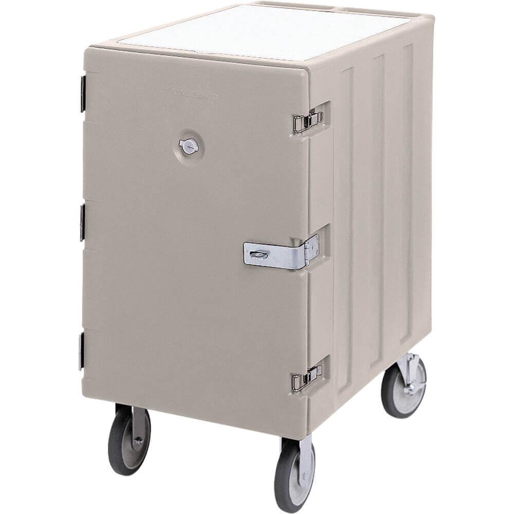 Gray, 13-Pan Insulated Sheet Pan and Tray Cart, Lockable