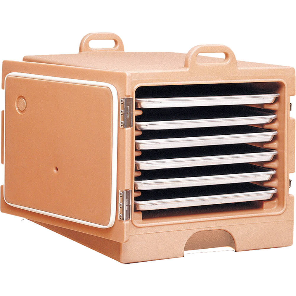 """Coffee Beige, Stackable Carrier for 18"""" X 26"""" Trays and Sheet Pans"""
