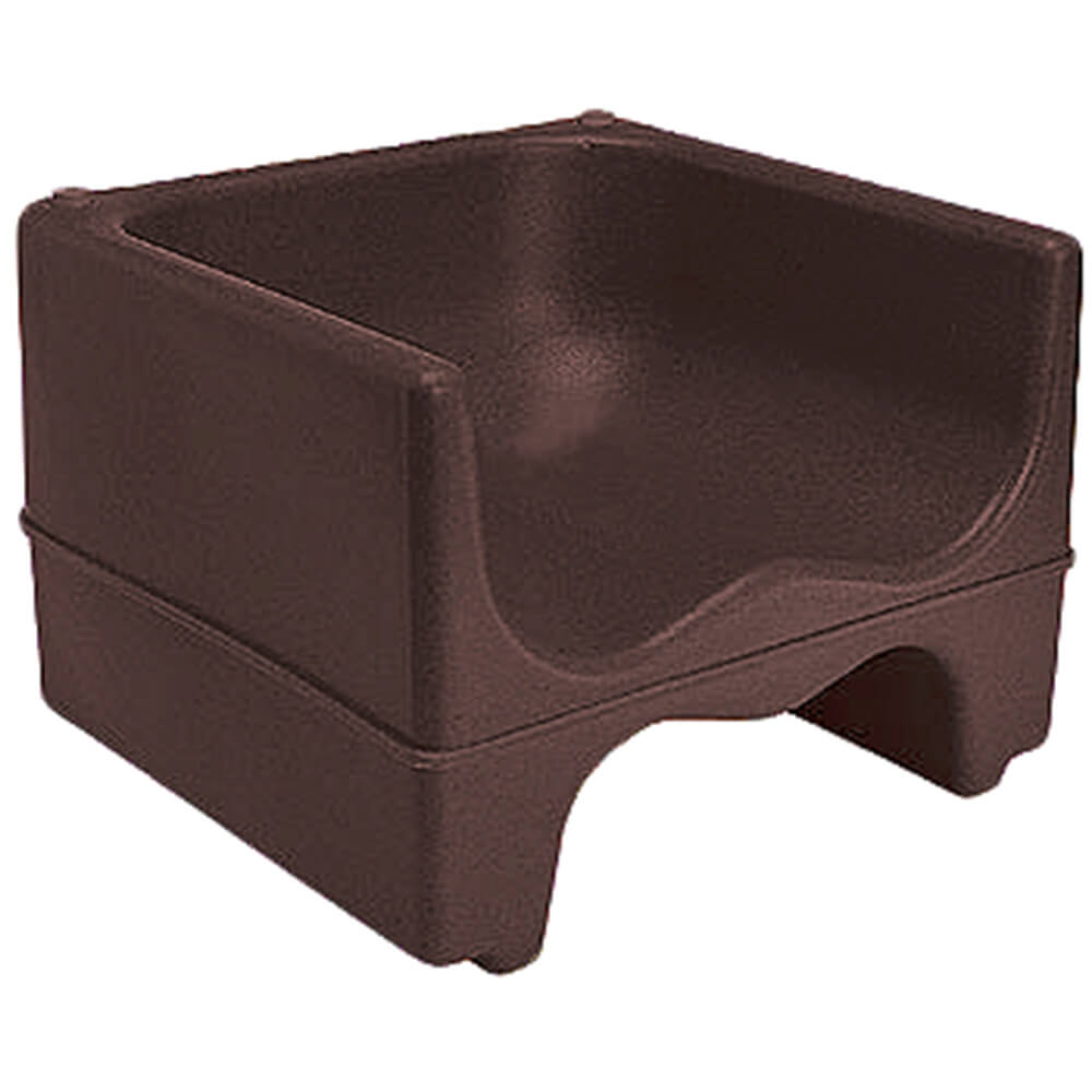 Dark Brown, Dual Height Booster Seat, No Strap, 1/PK