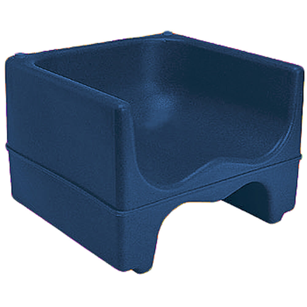 Navy Blue, Dual Height Booster Seat, No Strap, 1/PK