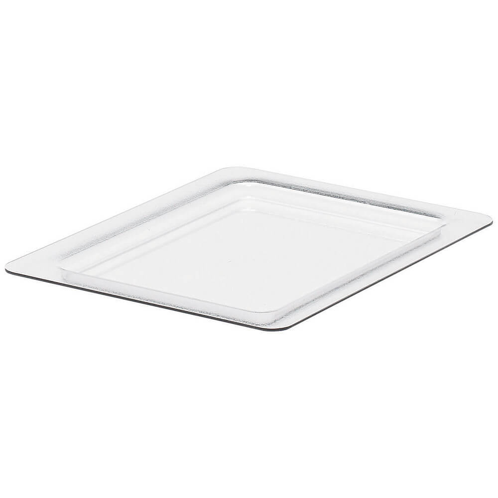 Clear, Cold Food Pan Flat Lid, Fits GN 1/2, 2/PK