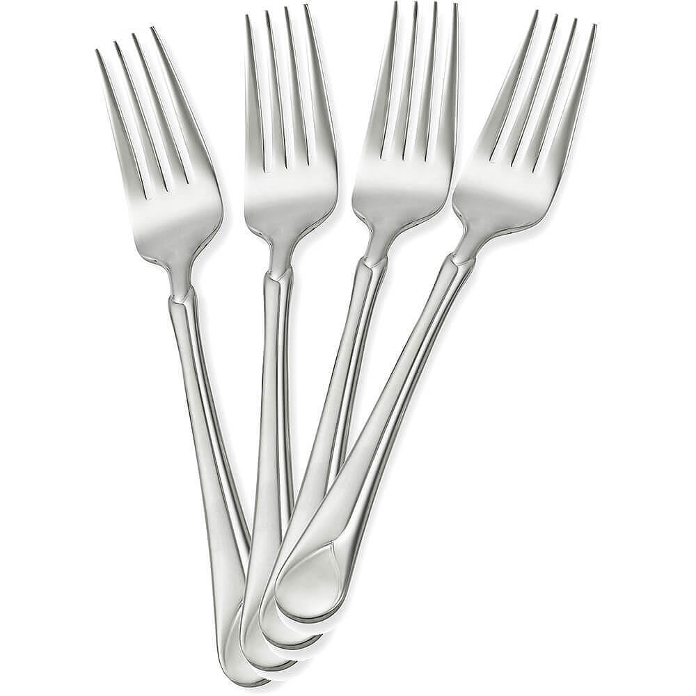 Stainless Steel, Provence Silverware Set, Salad Fork, 4/PK