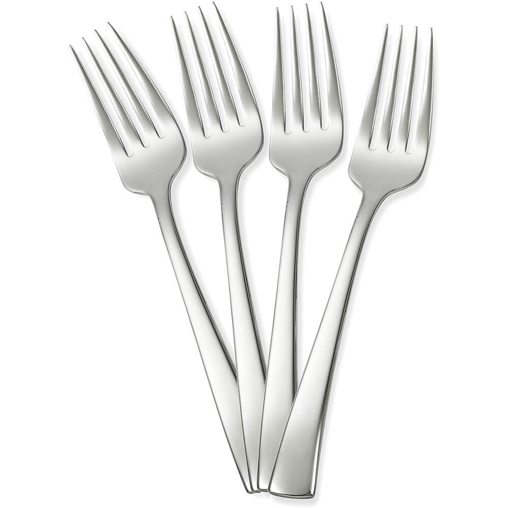 Stainless Steel, Bellasera Silverware Set, Dinner Fork, 4/PK