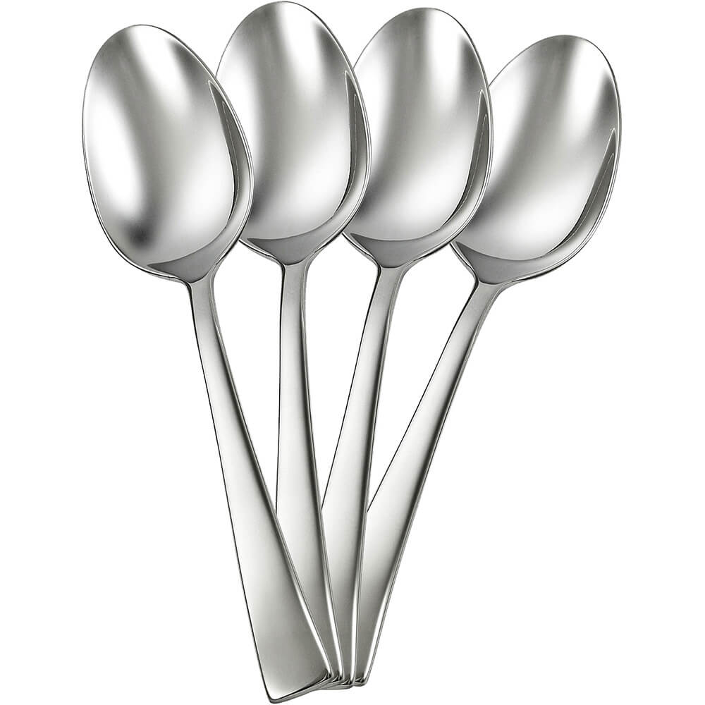 Stainless Steel, Bellasera Silverware Set, Teaspoon, 4/PK