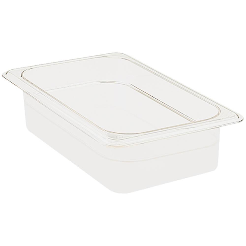 "White, 1/2 GN Food Pan, 2-1/2"" Deep, 6/PK"