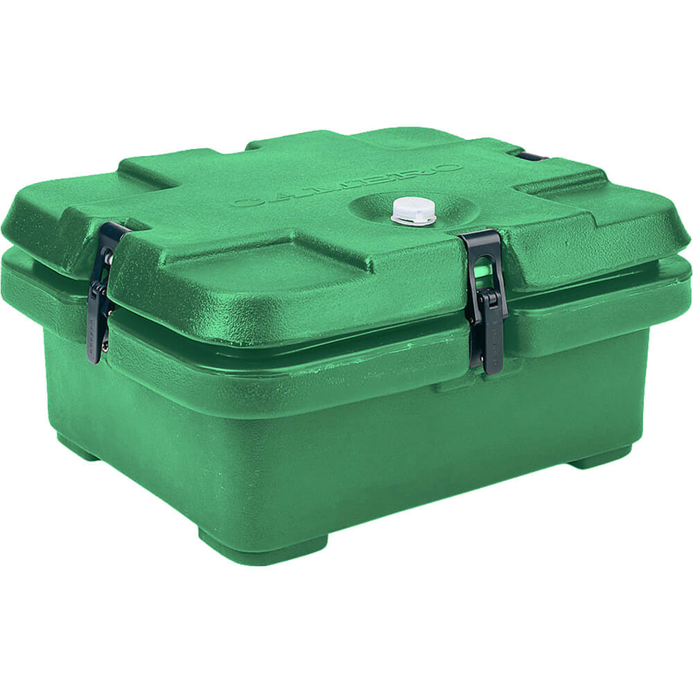 Green, Top Loading Insulated Food Carrier, Half Size Pans