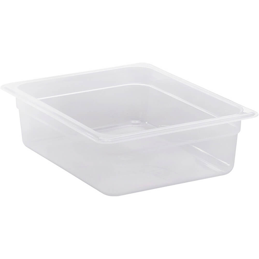 "Translucent, 1/2 GN Food Pan, 4"" Deep, 6/PK"