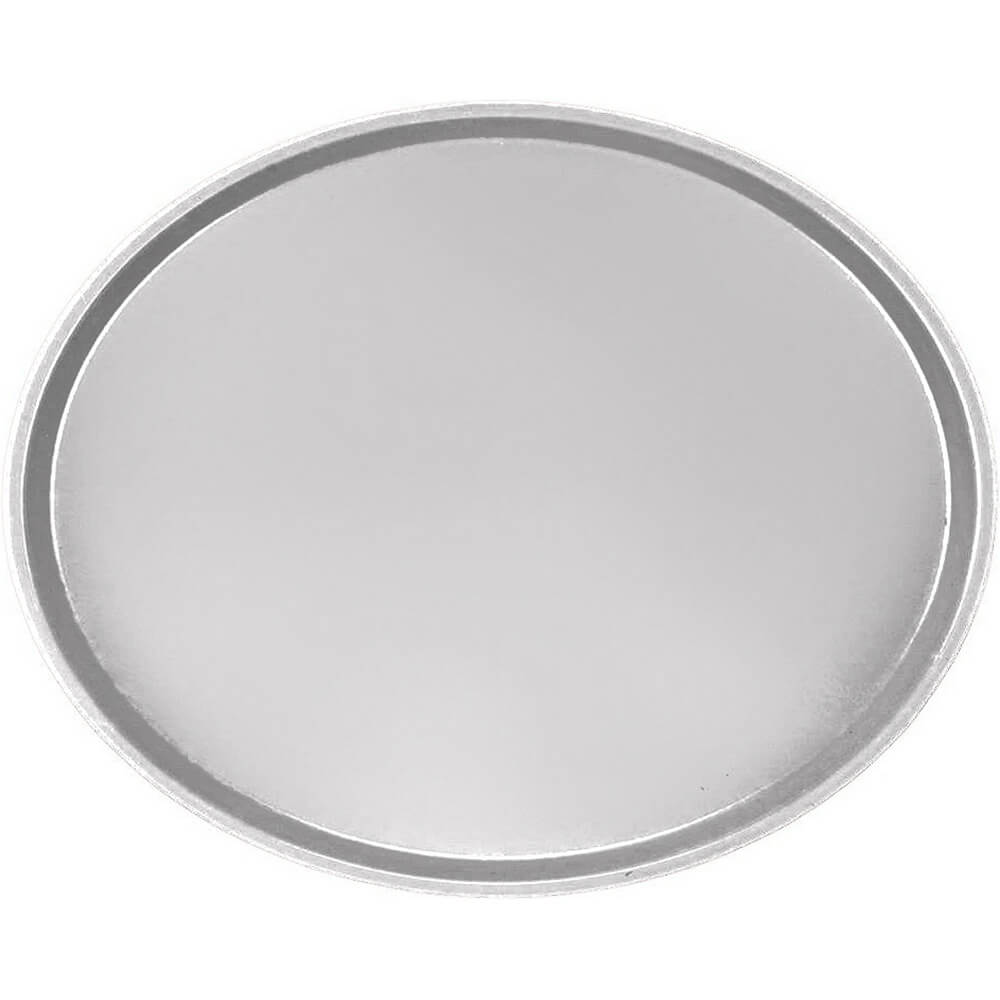 Pearl Gray, Large Restaurant Oval Tray, Fiberglass, 6/PK