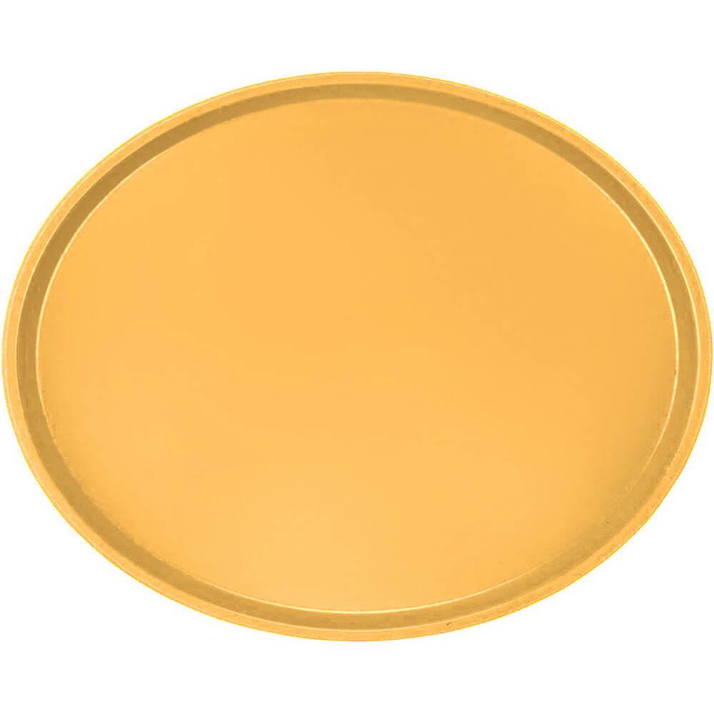 Tuscan Gold, Large Restaurant Oval Tray, Fiberglass, 6/PK