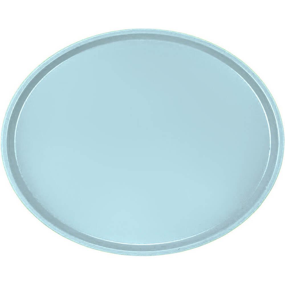 Sky Blue, Large Restaurant Oval Tray, Fiberglass, 6/PK