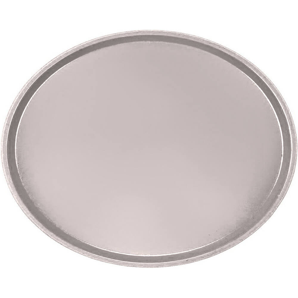 Taupe, Large Restaurant Oval Tray, Fiberglass, 6/PK