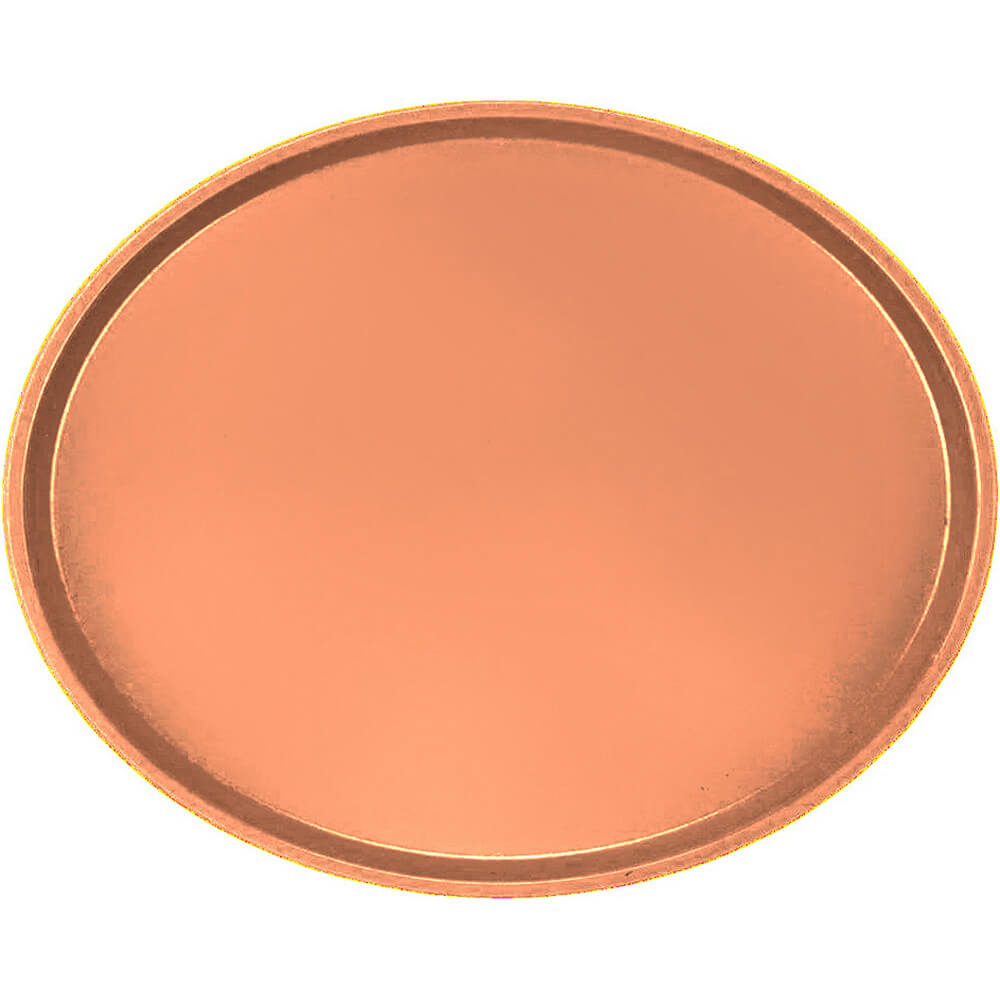 Orange Pizazz, Restaurant Oval Tray, Fiberglass, 6/PK
