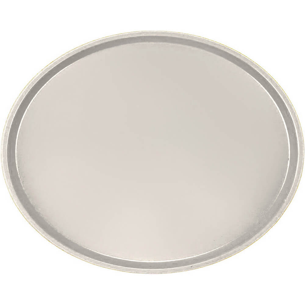 Cottage White, Large Restaurant Oval Tray, Fiberglass, 6/PK