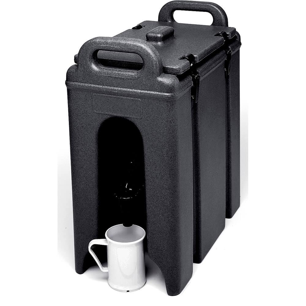 Black, 2.5 Gal. Insulated Beverage Dispenser