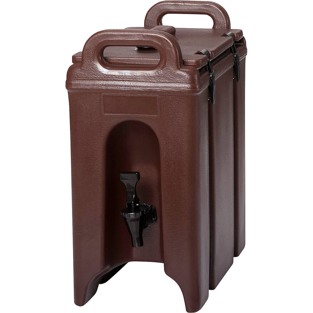 Dark Brown, 2.5 Gal. Insulated Beverage Dispenser