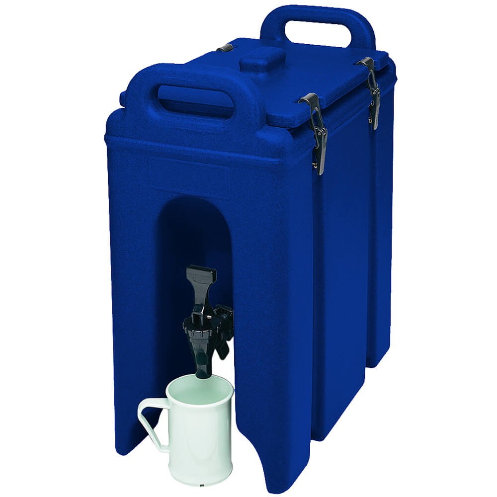 Navy Blue, 2.5 Gal. Insulated Beverage Dispenser