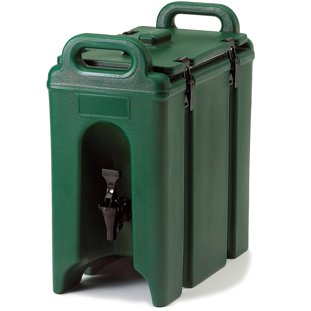 Green, 2.5 Gal. Insulated Beverage Dispenser