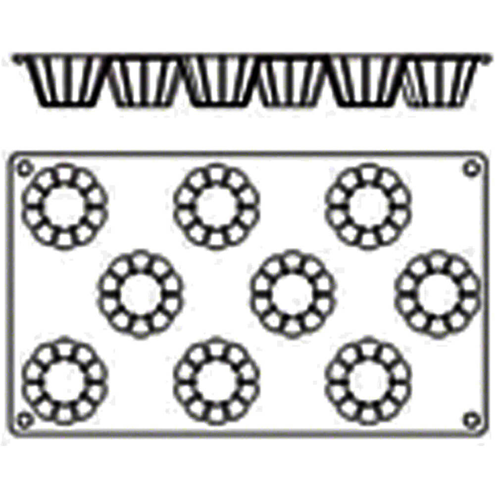 Silicone Gastroflex Brioche Baking Mold View 2
